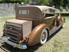 1937 Packard V12 Dual Windshield Phaeton