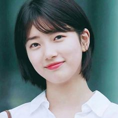 Learn more about casual hairstyles Bae Suzy, Sleep Hairstyles, Pixie Hairstyles, Cute Hairstyles, Casual Hairstyles, Korean Short Hair, Short Hair Cuts, Shot Hair Styles, Rides Front