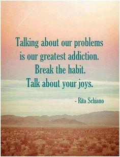 talk about ur joys