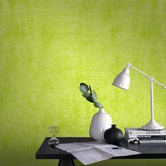 Papier peint vinyle expansé sur intissé Graffiti vert pop - CASTORAMA
