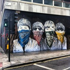 Cnr Museum St & New Oxford St | WC1A 1LY Like we wouldn't know who they are with their faces half covered. Dah!