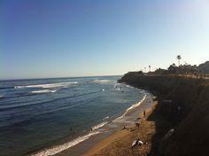 A beautiful day in Pleasure Point Pleasure Point, Beautiful Day, The Neighbourhood, Photographs, Friday, Beach, Water, Outdoor, Santa Cruz