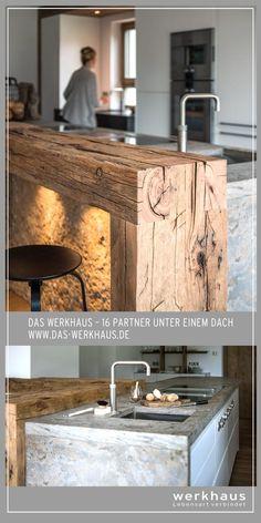 Chalet Design, Küchen Design, Rustic Kitchen Design, Interior Design Kitchen, Cuisines Design, Home Reno, Cool Kitchens, Kitchen Remodel, Home Goods