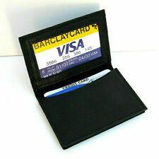 Black Genuine Leather Men's Bifold Wallet Center Flap Card Holder for sale online Leather Card Case, Leather Bifold Wallet, Ridge Wallet, Rfid Blocking Wallet, Front Pocket Wallet, Best Wallet, Money Clip Wallet, Billfold Wallet, Black Wallet