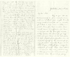 Civil War Love Letter