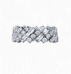 Fedi nuziali 2016 - Fede con diamanti Cartier