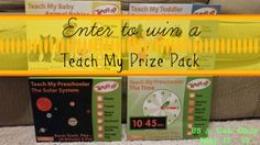 Educational Play Everyday - Enter to win 4 of the newest Teach My sets including Time, Solar System, Baby Animals and Continents and Animals. Open to US & CAN Ends 5/19
