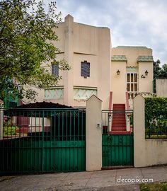 #ArtDeco | Herminia Garcia Bruna House, Havana, Cuba