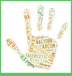 Gesztenyafalevél Word Art, School Stuff, Language, Peace, School Supplies, Languages, Sobriety, World