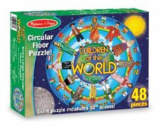 48 piece jumbo floor puzzle age group