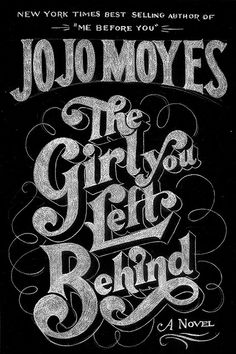 The Girl You Left Behind by Drew Melton #calligraphy #lettering #typographydesigns #artwork