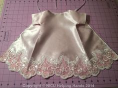 Made with love by a Sister Seamstress @ nicuHelpingHands.org