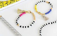 looks com pulseiras de miçangas - Pesquisa Google
