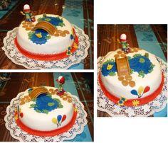 Gâteau anniversaire Manny et ses outils