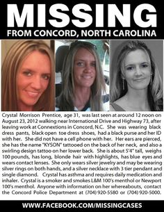 Missing Person From Concord, North Carolina | Gay Richmond News ...
