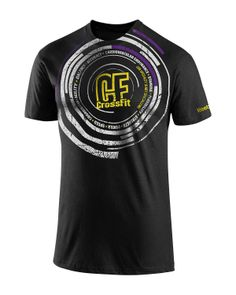 CrossFit HQ Store- Radical Radial Tee - Graphic Tees - Men Buy Authentic CrossFit T-Shirts, CrossFit Gear, Accessories and Clothing