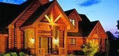 Aurora - Log Home Floor Plans