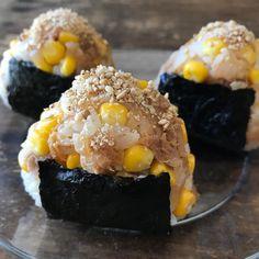 Media Asian Recipes, Healthy Recipes, Ethnic Recipes, Sushi Taco, Rice Balls, Cute Food, Desert Recipes, Diy Food, Japanese Food