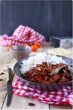 Chili con carne Grandma made the best and I loved it with rice.