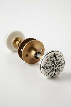 Compass Doorknob #anthropologie