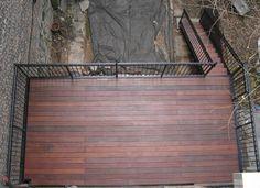 Ipe deck  park slope, brooklyn