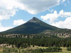 Estes Cone, Colorado- Hiked to the top of this!