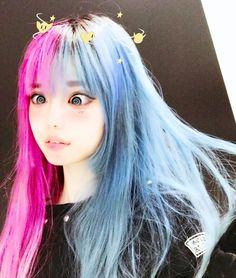 Item Type: Hair Color NET WT: Brand Name: TEAYASON Model Number: as shown Quantity: Ingredient: Disposable color hair cream Production License: as shown Kawaii Cosplay, Mode Kawaii, Kawaii Girl, Pastel Goth Fashion, Kawaii Fashion, Korean Girl, Asian Girl, Hair Mascara, Chica Fantasy