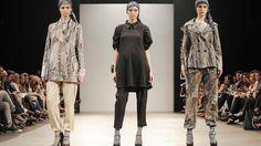 Desfile Mariana Dappiano. Vuelven los trajes: remixados con líneas descontracturadas y pantalones con puño #BAFWEEK 2013. #outfit #fashion #suit
