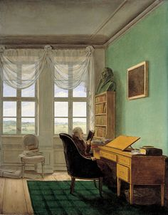 Georg Friedrich Kersting [31.10.1785 Güstrow; 1.07.1847 Meißen] - немецкий художник, друживший с К. Д. Фридрих…