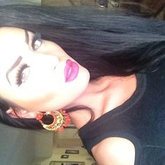 @esmeralda_fili Ardell lashes 105.  Doubled for a more dramatic effect