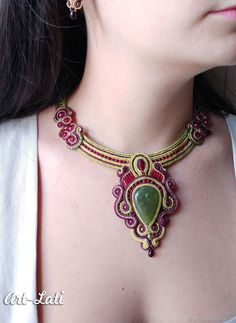 """""""Souvenirs"""" soutache set – shop and order online on Livemaster 