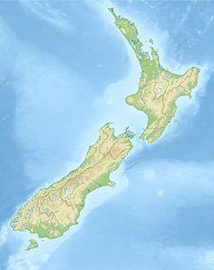 Voir la carte topographique deNouvelle-Zélande