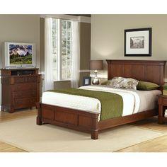Aspen Panel 2 Piece Bedroom Set Size: Full / Queen, Finish: Rustic Cherry - http://delanico.com/bedroom-sets/aspen-panel-2-piece-bedroom-set-size-full-queen-finish-rustic-cherry-590086684/