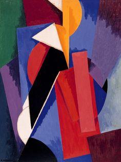 'Peinture n° 530' (1915) by Alberto Magnelli