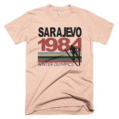 Reliable Olympic Souvenirs Sarajevo 1984 Bright In Colour Fan Apparel & Souvenirs Sports Mem, Cards & Fan Shop