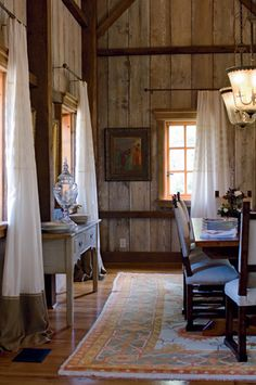Barn wood walls
