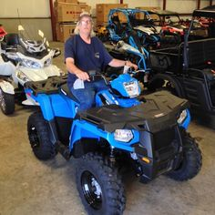 Thanks to Travis Lewis from Laurel MS for getting a 2016 Polaris Sportsman 450 at Hattiesburg Cycles