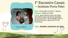Banner I Encontro Sagrada Família
