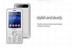 SERVO V8100 2.8-inch HD Large Screen 1800mAh 4 SIM Card Quad Standby Flashlight Mobile Phone