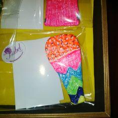 broche helado diseño Lady isabel por ARCANA