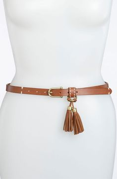 Sperry Top-Sider® Leather Belt.  Cute little detail.