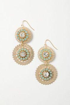 Cogflower Earrings
