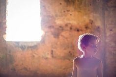 Luz incrível nas ruínas do Forte de Santa Cruz, na Ilha de Anhatomirim.