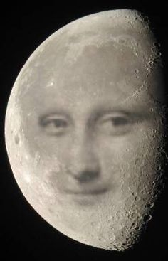 Mona in the Moon by Mr Rallentando. S)