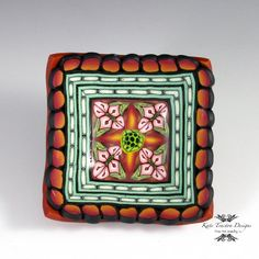 Polymer Clay Ring Bowl by Kate Tracton Designs, $32.00
