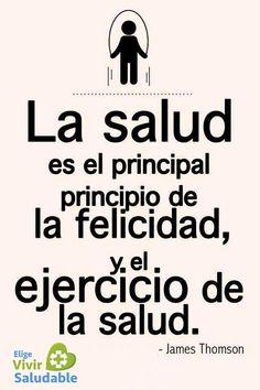 #Frases #Salud #ejercicio #felicidad