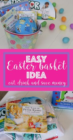 Check out this super easy Easter basket idea that will simplify Easter for you this year.   Easy Easter Basket Idea + $50 giveaway! http://eatdrinkandsavemoney.com/2017/03/14/easy-easter-basket-idea/