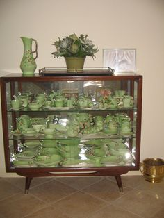 My beautiful Carlton ware apple blossom collection. Vintage Dishes, Vintage Table, Vintage China, Vintage Kitchen, Carlton Ware, Antique Glassware, Dining Room Lighting, Vintage Pottery, China Cabinet