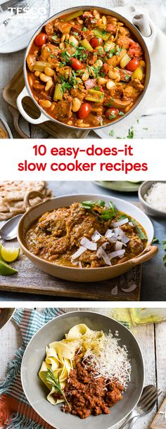 For the ultimate fuss-free cooking you cant beat a slow cooker recipe - just chuck in all your ingredients set the timer and off you go. Whether youre looking for slow cooker chicken recipes fragrant vegetarian tagines or even decadent slow cooker des Slow Cooker Chicken Stew, Slow Cooker Curry, Best Slow Cooker, Lamb Tagine Slow Cooker, Slow Cooker Desserts, Slow Cooked Meals, Slow Cooker Recipes, Cooking Recipes, Slow Cooking