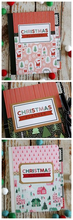 DIY Crafts : Christmas Planners with Free Printables Religious Christmas Cards, Diy Christmas Cards, Christmas Projects, Holiday Crafts, Christmas Time, Christmas Ideas, Xmas, Holiday Ideas, Christmas Letters